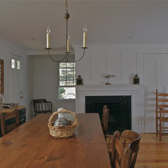 traditional dining room by Joseph B Lanza Design + Building