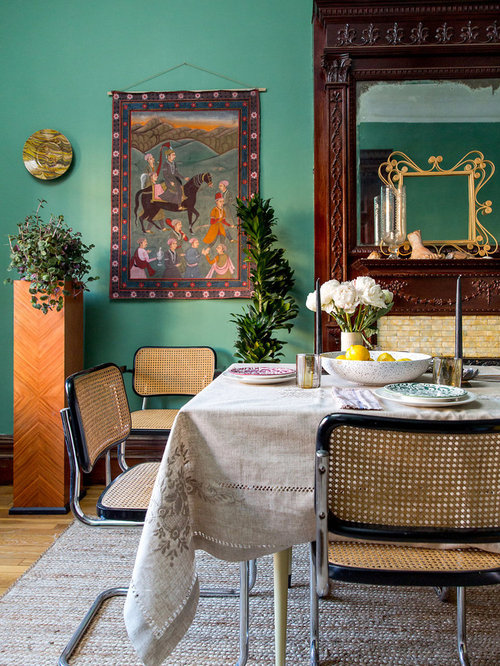 Best Eclectic Dining Room Design Ideas & Remodel Pictures | Houzz