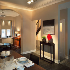 Contemporary Dining Room by Inviting Home Inc