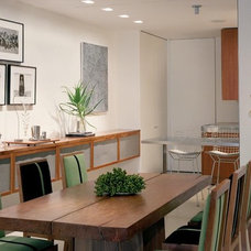 Modern Dining Room by Roger Hirsch Architect