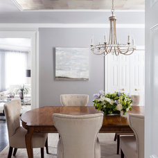 Traditional Dining Room by Susan Glick Interiors