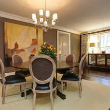 Traditional Dining Room by John Willis Homes