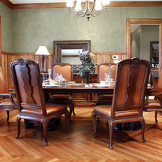 Traditional Dining Room by Thomas Lumber Company