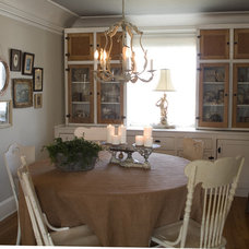 Eclectic Dining Room by Debbie Dusenberry, aka CuriousSofa.com
