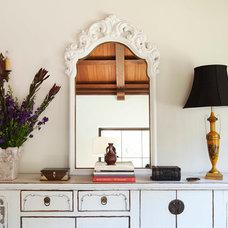 Mediterranean Dining Room by Woodson & Rummerfield's House of Design