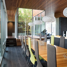 Contemporary Dining Room by Hufft Projects