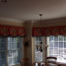 Tropical Dining Room by Artistic Window Creations