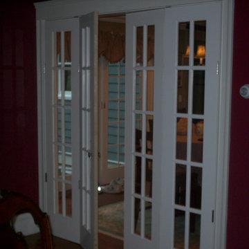 Custom Bi-fold French doors