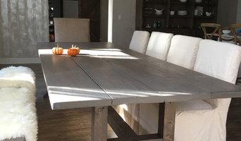 Custom build farm table