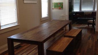 Custom Built Dining Tables