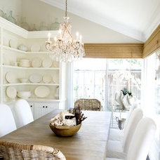 Traditional Dining Room by Mishelle Link Interior Design