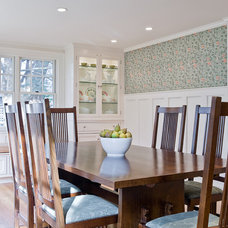 Traditional Dining Room by David Sharff Architect, P.C.