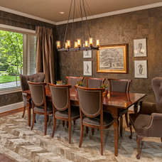 Traditional Dining Room by Studio 212 Interiors