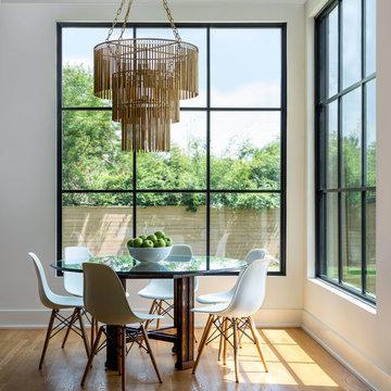 Custom Design | Build: Meyerland Transitional