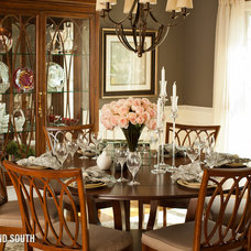 Traditional Dining Room by Cherry Yount @ Furnitureland South