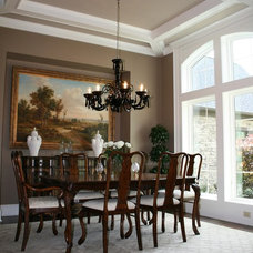 Traditional Dining Room by Prestige Homes