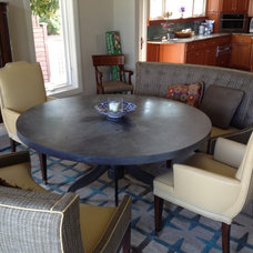 Contemporary Dining Room by The Sterling Seahorse