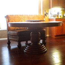Traditional Dining Room by Fiorenza Custom Woodworking