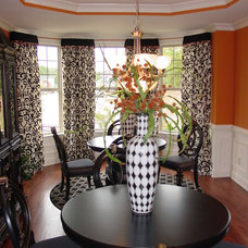 Traditional Dining Room by Window Dazzlers by Mar Innovations Inc