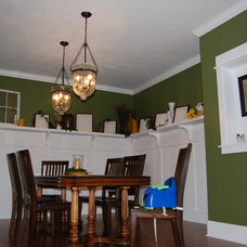 Traditional Dining Room Custom Dream Home Built for a Family of 7