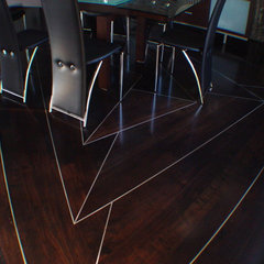 contemporary dining room by A Step Above Flooring & Installation, Inc.