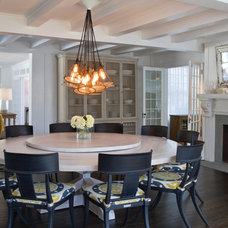 Contemporary Dining Room by Chango & Co.
