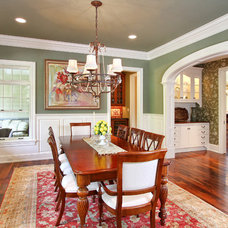 Traditional Dining Room by R.A.Hoffman Architects, Inc.