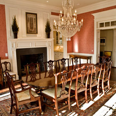 Traditional Dining Room by Deer Creek Homes, Inc.