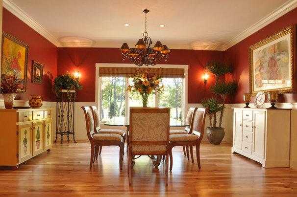 Traditional Dining Room by Van's Lumber & Custom Builders, Inc.