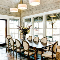 Farmhouse Dining Room by MSA ARCHITECTURE + INTERIORS