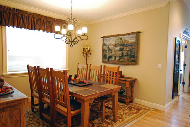 Traditional Dining Room by Shelter Solutions LLC
