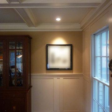 Custom Panels and Ceiling