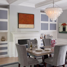 Contemporary Dining Room by Eleven Interiors