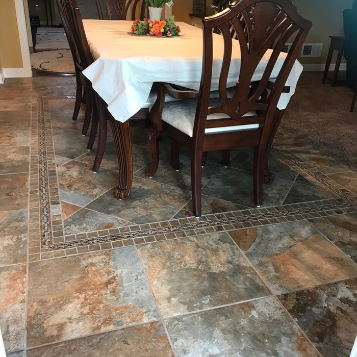 Custom Tile Work - Porcelain & Ceramic Tile