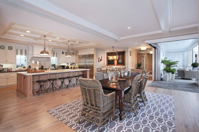 Traditional Dining Room by Patterson Custom Homes