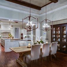 Transitional Dining Room by Design Anthologie, Inc.