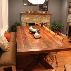 Farmhouse Dining Room by Rustic Grain