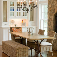 eclectic dining room by Tracy Dwyer, Parc Monceau