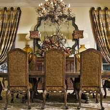 Traditional Dining Room by Belle Gray Home Decor & Window Treatments