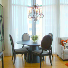 Contemporary  by Drapery and Design by Carlos