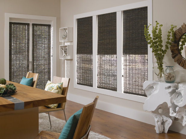 Dining Room by Windows Dressed Up