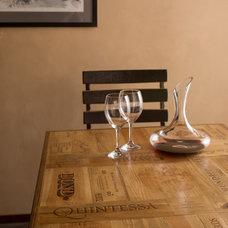 Contemporary Dining Room by Alpine Wine Design