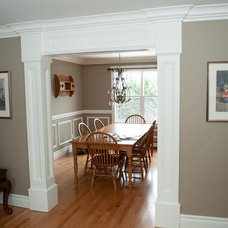 Traditional Dining Room by Moulding Warehouse