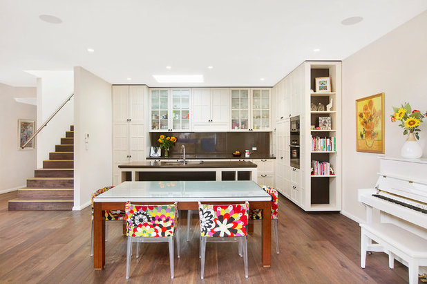 Contemporary Dining Room by Grid Projects