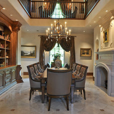 Traditional Dining Room by Brown Design Group