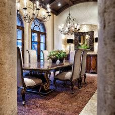 Mediterranean Dining Room Dallas/Ft Worth