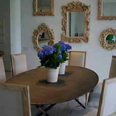 Contemporary Dining Room by Stacy Hyde Design