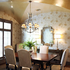 Traditional Dining Room by Emily Johnston Larkin