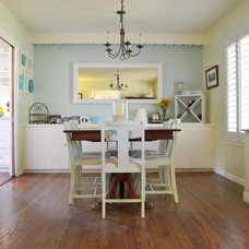 Beach Style Dining Room by Sarah Greenman