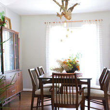 Eclectic Dining Room by Hilary Walker
